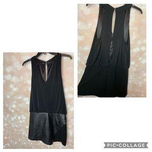 Designer brand black romper/skort 🖤